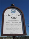 Image for Aguaje del Cuate Highway 101 History - Mission Viejo, CA