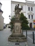 Image for Baroque sculpture of. St.Patrick  - Karvina, Czech Republic