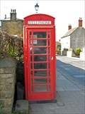 Image for Red Phone Box, Wentworth Village, Rotherham.