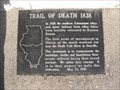 Image for Trail of Death 1838 marker - Danville, IL