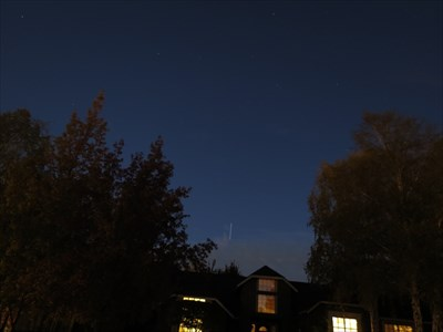 ISS Disappearing, Almaden Valley, San Jose, California