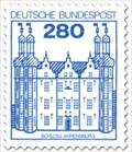 Image for Schloss Ahrensburg Briefmarke - Schleswig-Holstein, Germany