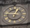 Image for School Clock Uland-Gymnasium Tübingen, Germany, BW