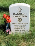 Image for Recipient of Medal of Honor - Harold I Johnston, Sergeant (Private First Class at time of honor) - Denver, CO