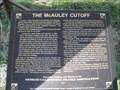 Image for The McAuley Cutoff - Dingle, ID