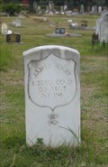 Image for James Riley, US Civil War Veteran, Grave - Beechworth, VIC, AUSTRALIA