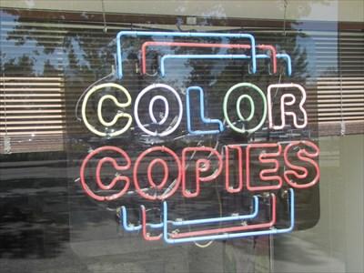 Color Copies, Copy Central, Berkeley, CA