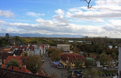 Looking Southerly... Breisach from the Münsterberg