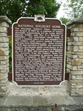 Image for National Soldiers' Home Historical Marker