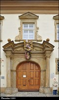 "Image for Baroque portal of Canon's Residence ""Residentia Schroffeliana"" (Olomouc, Central Moravia)"
