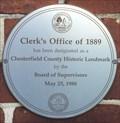 Image for Clerk's Office of 1889 - Chesterfield, VA