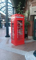 Image for Red Telephone Box in Townhall - Norderstedt, Germany