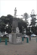 Image for Boer War Memorial, Marine Parade, Napier, Hawke's Bay, New Zealand.