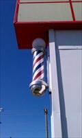 Image for Main Street Barber School Barber Pole - Roy, Utah