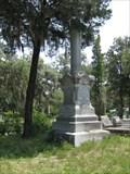 Image for Nicolson Family Column - Bonaventure Cemetery - Savannah, GA