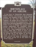 Image for Birthplace of an Airline Historical Marker