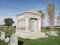 Image for Coyner Shobe Mausoleum - Linden Cemetery - Linden, IN