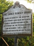 Image for The James Rumsey Bridge / The Battle of Antietam or Sharpsburg