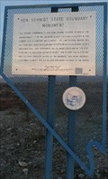 Image for Von Schmidt State Boundary Marker