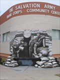 Image for Salvation Army Community Center Mural  (The Donut Girls) - Tulare, CA