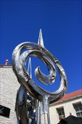 Image for Unnamed sculpture off Buckingham Street — Arrowtown, New Zealand