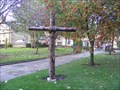 Image for Wooden Cross, St. Mary's Church, Greasbrough, Rotherham, UK.