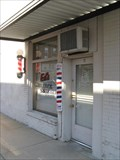 Image for Ed's Barber Shop Pole - Historic Rt.66
