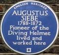 Image for Augustus Siebe - Denmark Street, London, UK