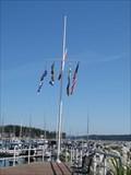 Image for Seaport Park Nautical Flag Pole - Sidney, British Columbia