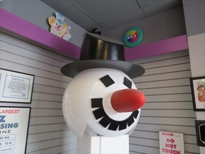 Snowman B Face, Burlingame, California