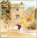 """Image for """"The Bishop's Palace, Buckden"""" by Edward Walker – Bishop's Palace, High St, Buckden, Hunts, UK"""