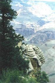This 1987 photo was taken at Mather Point, by MountainWoods