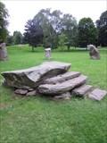 Image for Altar, Stone Circle, Singleton Park, Swansea, Wales, UK