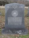 Image for Robert M. Gorman - New Chatfield Cemetery - Chatfield, TX