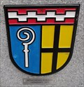 Image for Monchengladbach City Coat of Arms on Sister City Bench – Bradford, UK