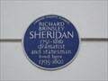 Image for Richard Brinsley Sheridan - Hertford Street, London, UK