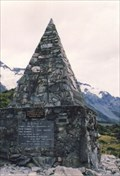 Image for Climbers Memorial. Mt Cook National Park. South Is. New Zealand.