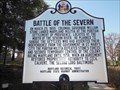Image for Battle of the Severn - Annapolis, MD