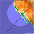 Image for ISS Sighting: San Diego,CA - Colorado Springs,CO - Lincoln,NE - Site#1