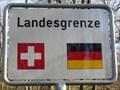 Image for Fussgängergrenzübergang St. Chrischona, Bettingen, Schweiz