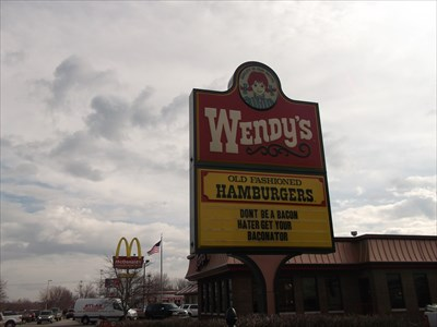 Wendy's - 701 Sagamore Parkway, West Lafayette, IN, USA