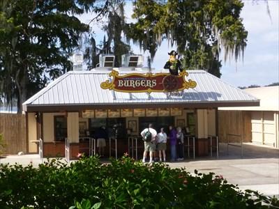 Brickbeards Burgers - Legoland - Florida, USA.