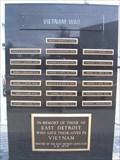 Image for Vietnam War Memorial, City Complex Grounds, Eastpointe, MI, USA