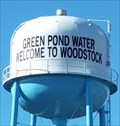 Image for Green Pond Water Welcome To Woodstock
