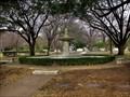 Image for fountain - Sparkman/Hillcrest Memorial Park, Dallas, TX