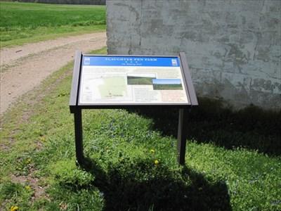 Walking Trail Begin, Fredericksburg, VA