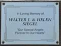 Image for Walter J. & Helen Siegel ~ Bismarck, North Dakota