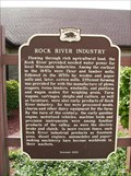 Image for Rock River Industry Historical Marker