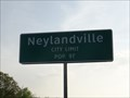 Image for Neylandville, TX - Population 97