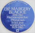 Image for Dr Margery Blackie - Thurloe Street, London, UK